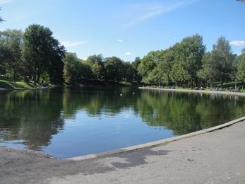 lac du parc la fontaine