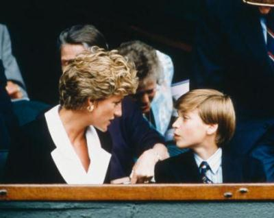 lady diana et william