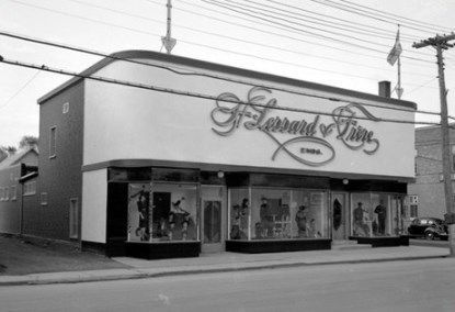magasin lesard et freres en 1945