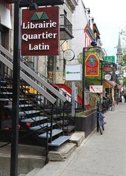 librairie du quartier latin