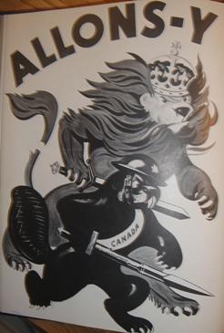 allons-y, la guerre 1939 angleterre et canada