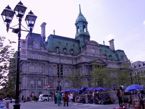 Hôtel de ville.