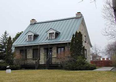 Maison hyacinthe jamme voyage travers le qu bec for Architecture quebecoise