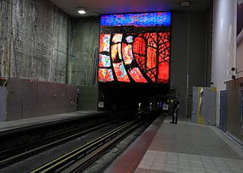 métro montreal panneau maisonneuve