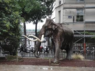 mammouth a paris