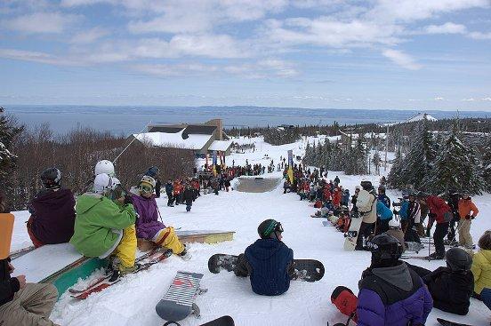 massif charlevoix ski