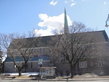 église unie de la ville de mont royal