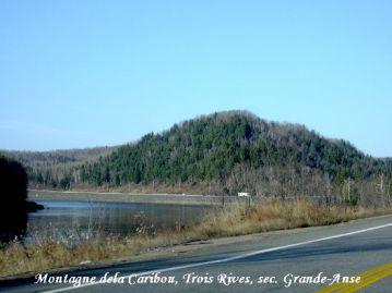 montagne de caribou