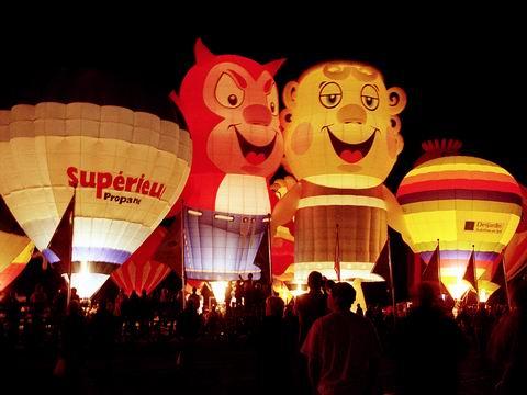 La montgolfière au Québec