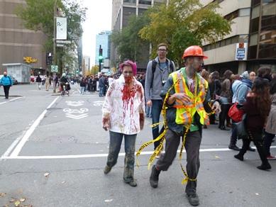 zombie à montréal