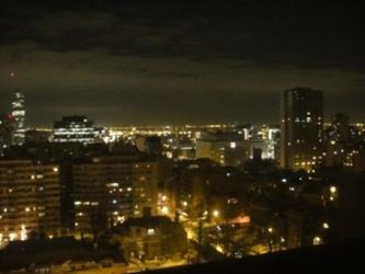 montreal vue de nuit