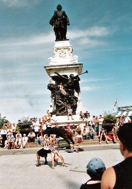 monument à Champlain