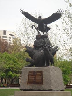 monument aux guerriers autochtones
