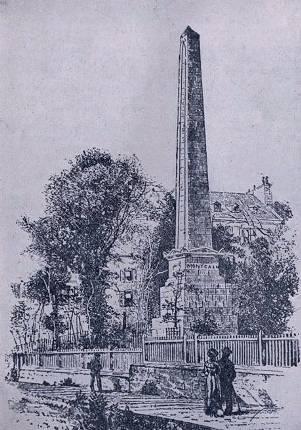 Monument Wolfe-Montcalm