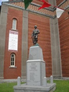 monument soldats italiens