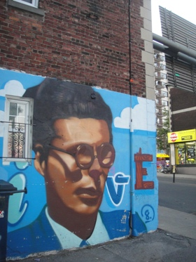murale homme