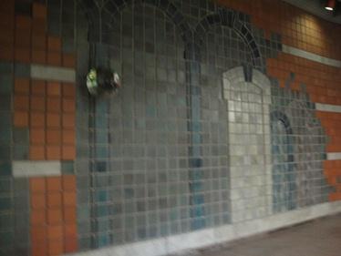 murale métro outremont