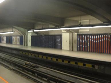 frise metro parc