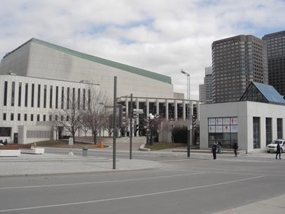 musée art contemporain façade laterale