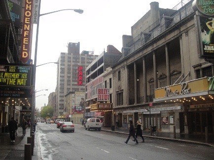 théâtres de broadway