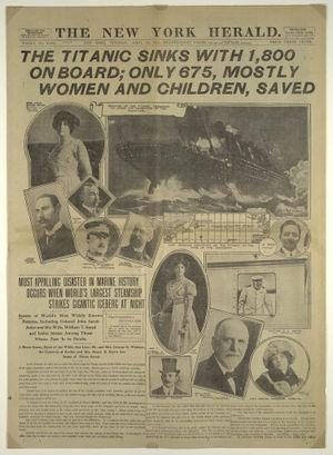 naufrage titanic_new_york_herald