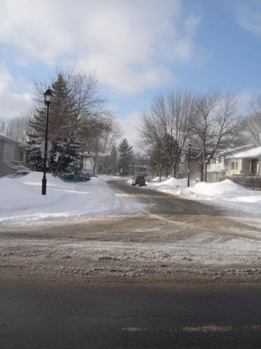 neige rue montreal