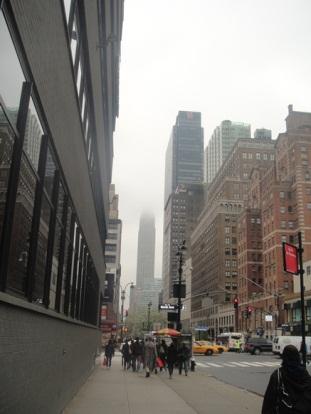 brouillard sur new york