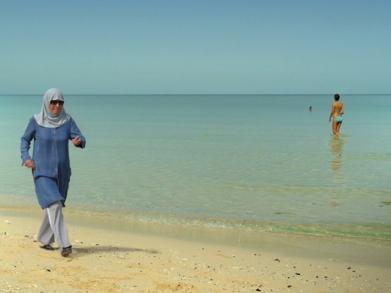 nudité sur plage