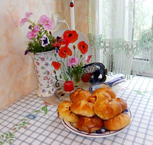 pains aux cerises