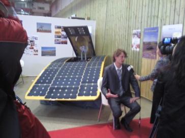 voiture panneaux solaires