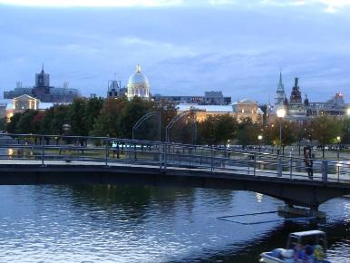 panorama du vieux montréal