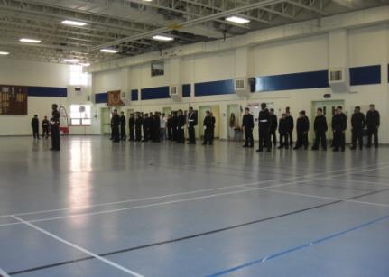 parade des cadets