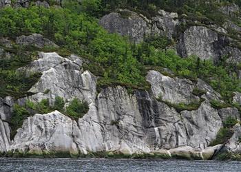 parois escarpés du fjord du saguenay