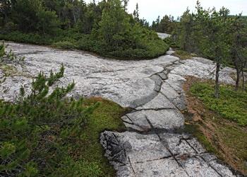 parois du fjord du saguenay