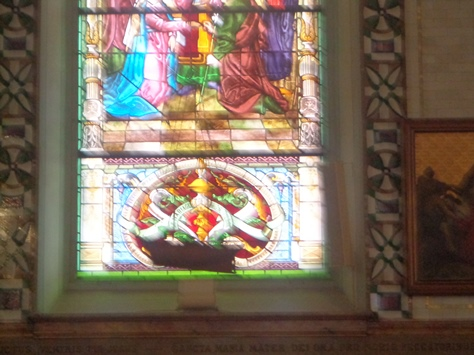 vitraux chapelle