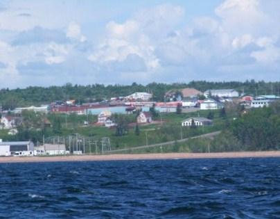 Canada – Un voyage de Québec vers la Gaspésie a travers les paroisses au 19 eme siècle Pasbebiac