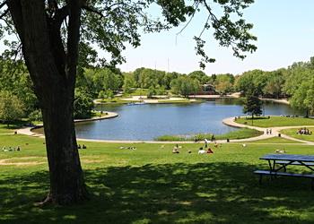 pavillon du lac aux castors