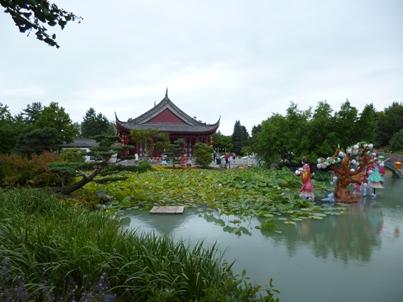 pavillon lac du rêve