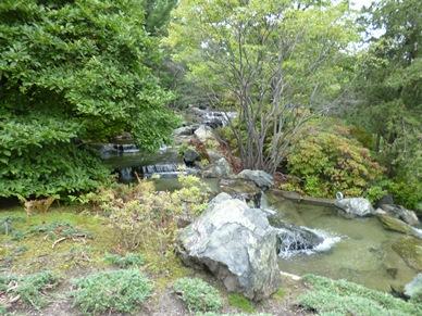 pierres du jardin japonais