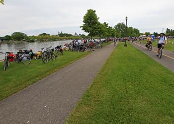 pistes cyclables à montréal