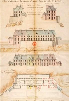 plan du château st louis