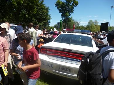 police fête des enfants