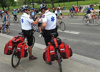 police vélo de montréal
