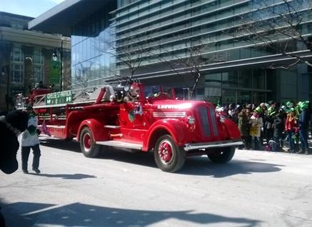 pompiers irlandais