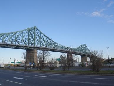pont cartier avenue lorimier et viger