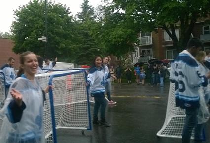 portes jeu de hockey