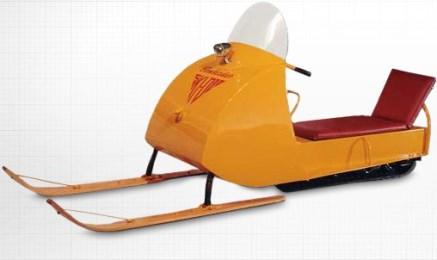 premier modèle du ski doo