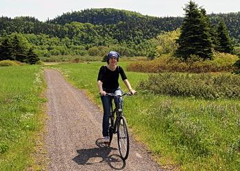 promenade à vélo Bic