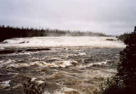 rapides de la riviere rupert