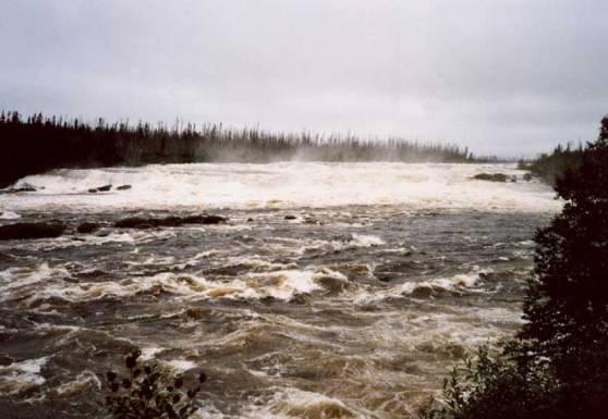 rapides de la rivière Rupert